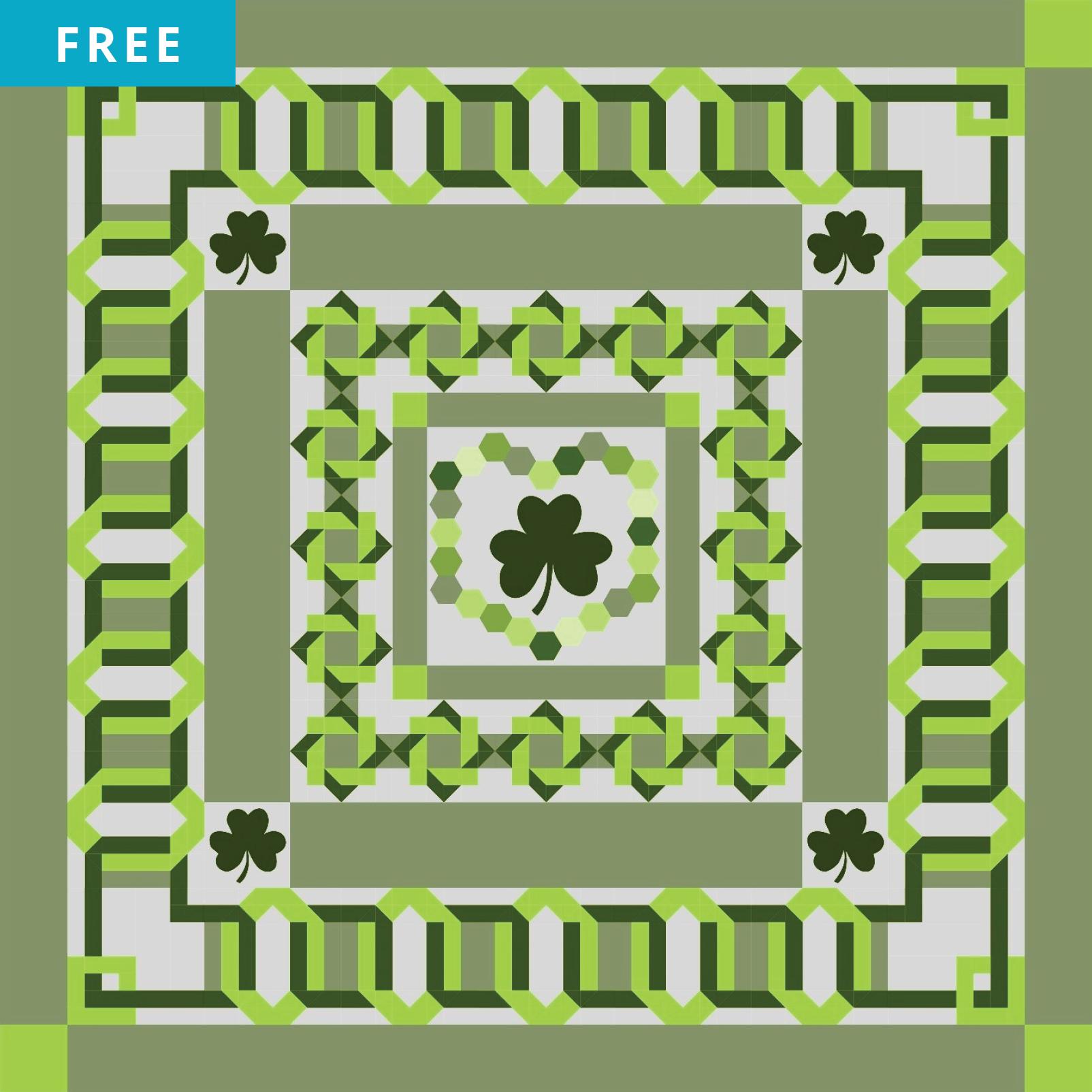 Free Quilt Pattern - Irish Quilt