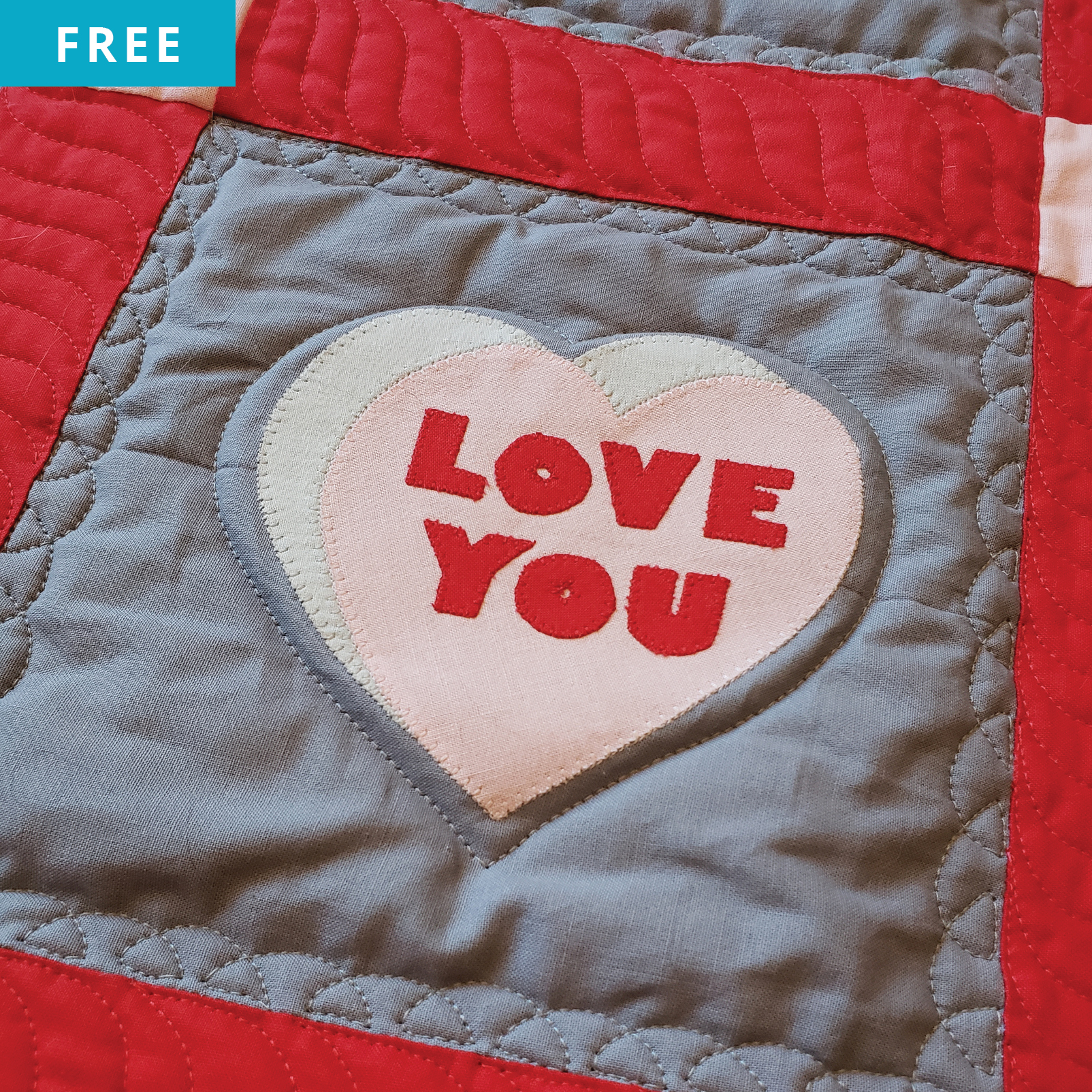 Free Quilt Pattern - Let's Talk Love