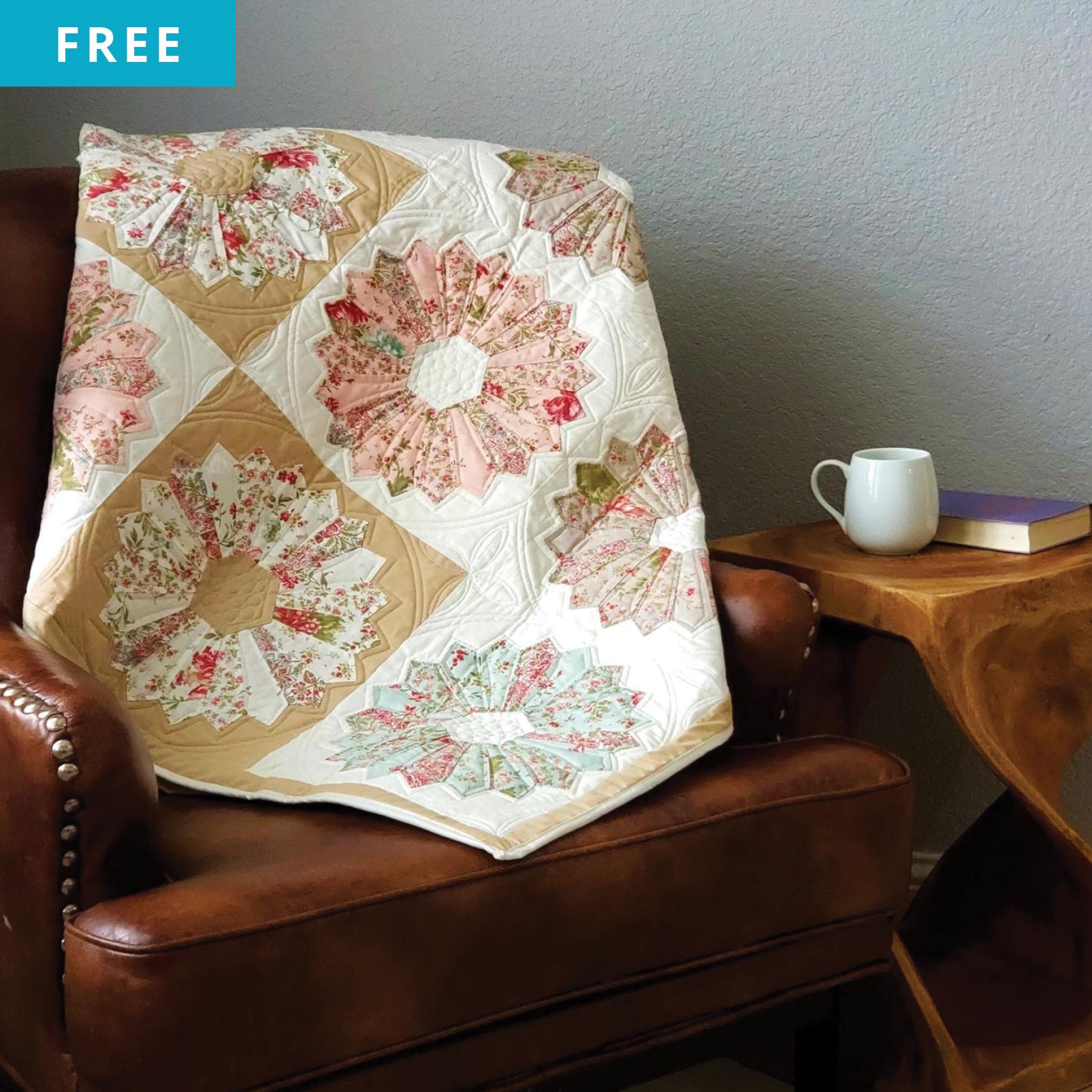 Free Quilt Pattern - Dresden Delight Quilt Pattern