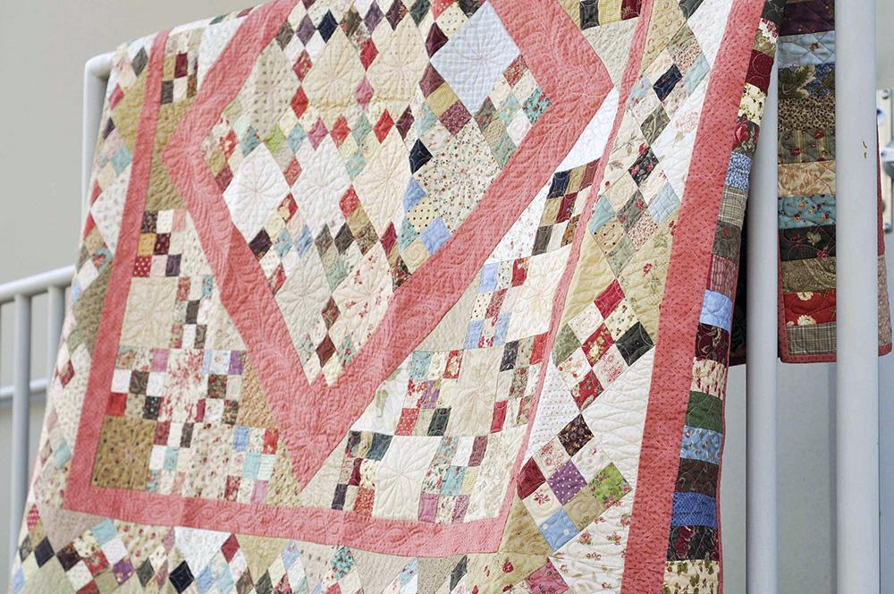 charm square quilt