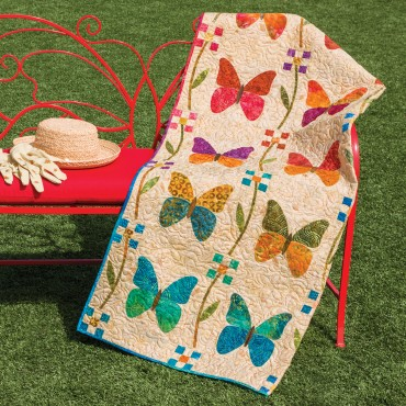 GO! Butterfly Patch Quilt Pattern