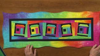 wavy quilt borders