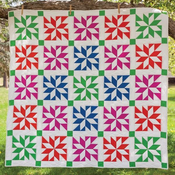 Lemoyne Star Prism Quilt Pattern National Sewing Circle