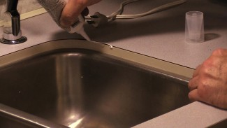 Keep the Moisture Out by Caulking Your RV Sink