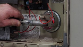 RV Water Heater Troubleshooting: Adjusting the Flame