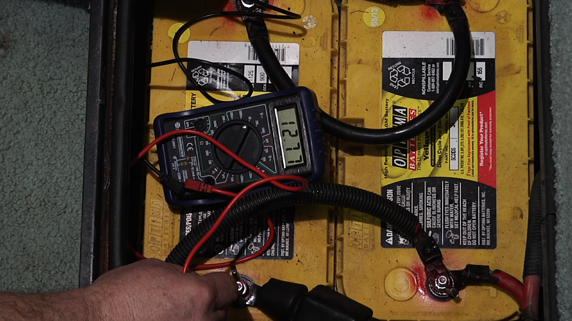 Rv Battery Maintenance Testing House Batteries Thor Motorhome Wiring Diagram