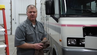 Don't Forget the Windshield in Your Annual RV Maintenance