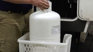 Properly Disconnecting and Filling an RV Propane Tank