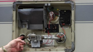 RV Propane Tank