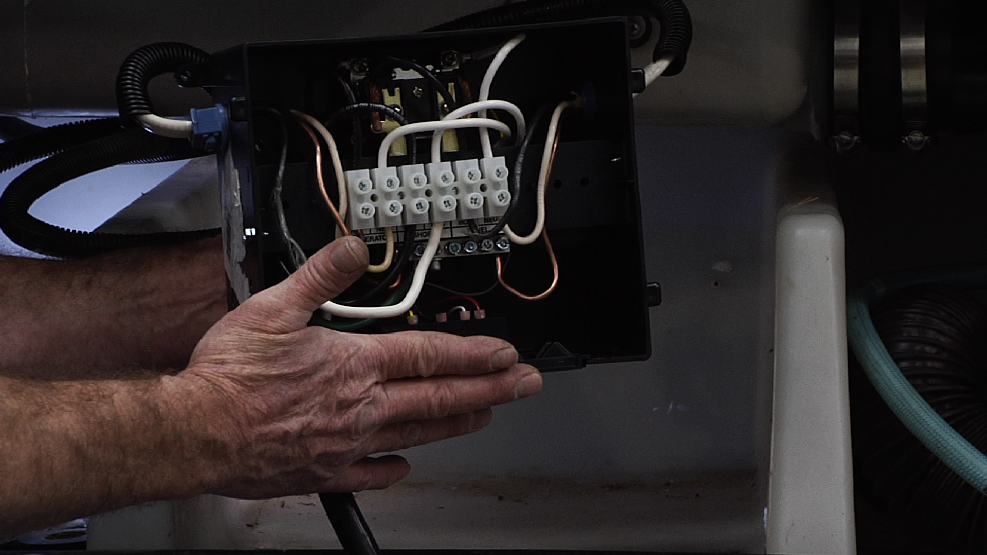 how to install an automatic rv transfer switch