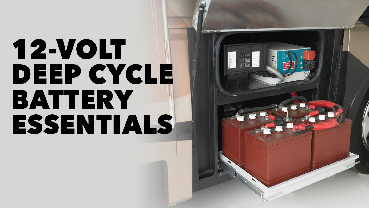 12 Volt 2 Battery Rv System : Volt deep cycle battery essentials rv repair club