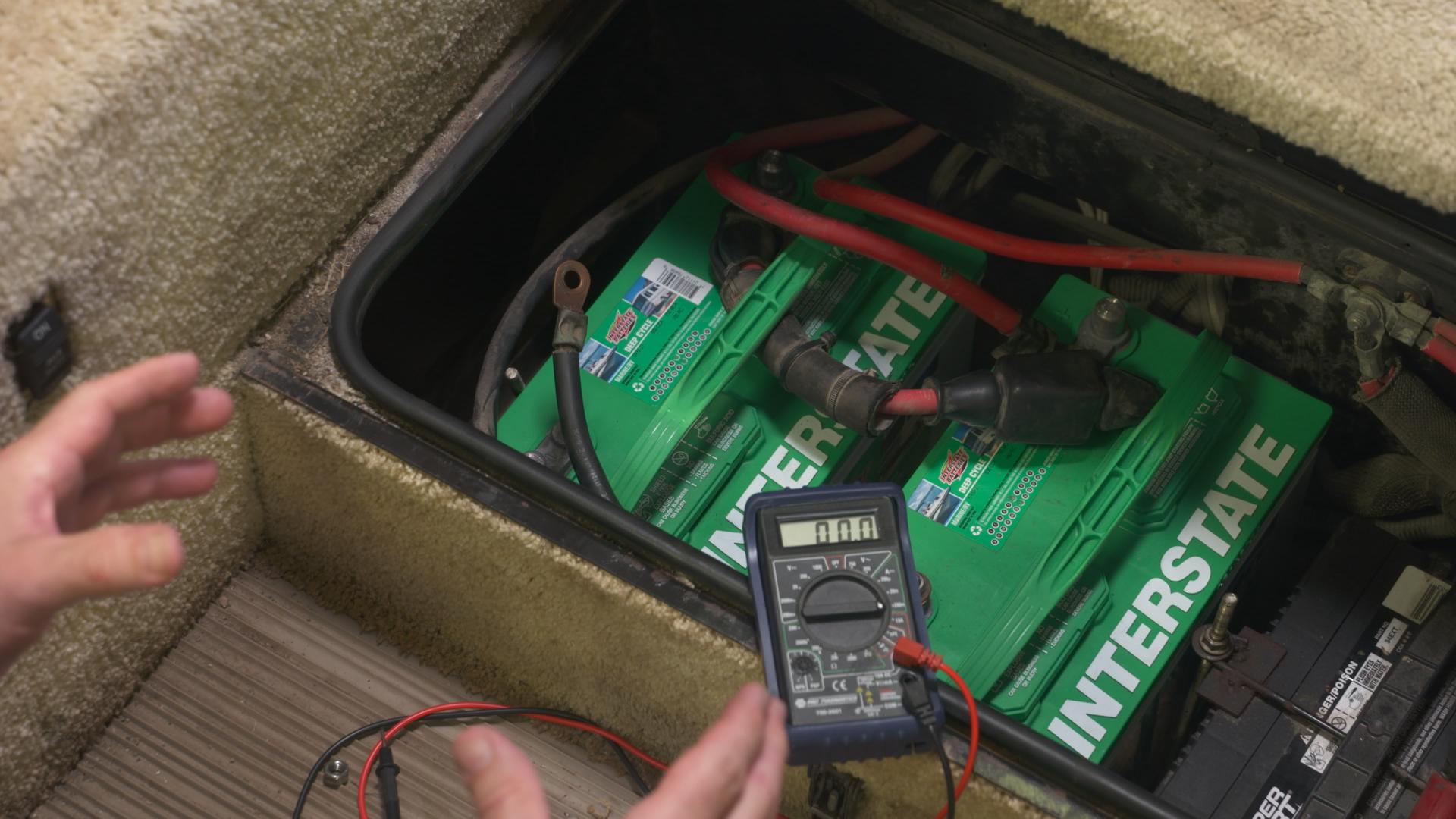 12 Volt Deep Cycle Battery Essentials Rv Repair Club