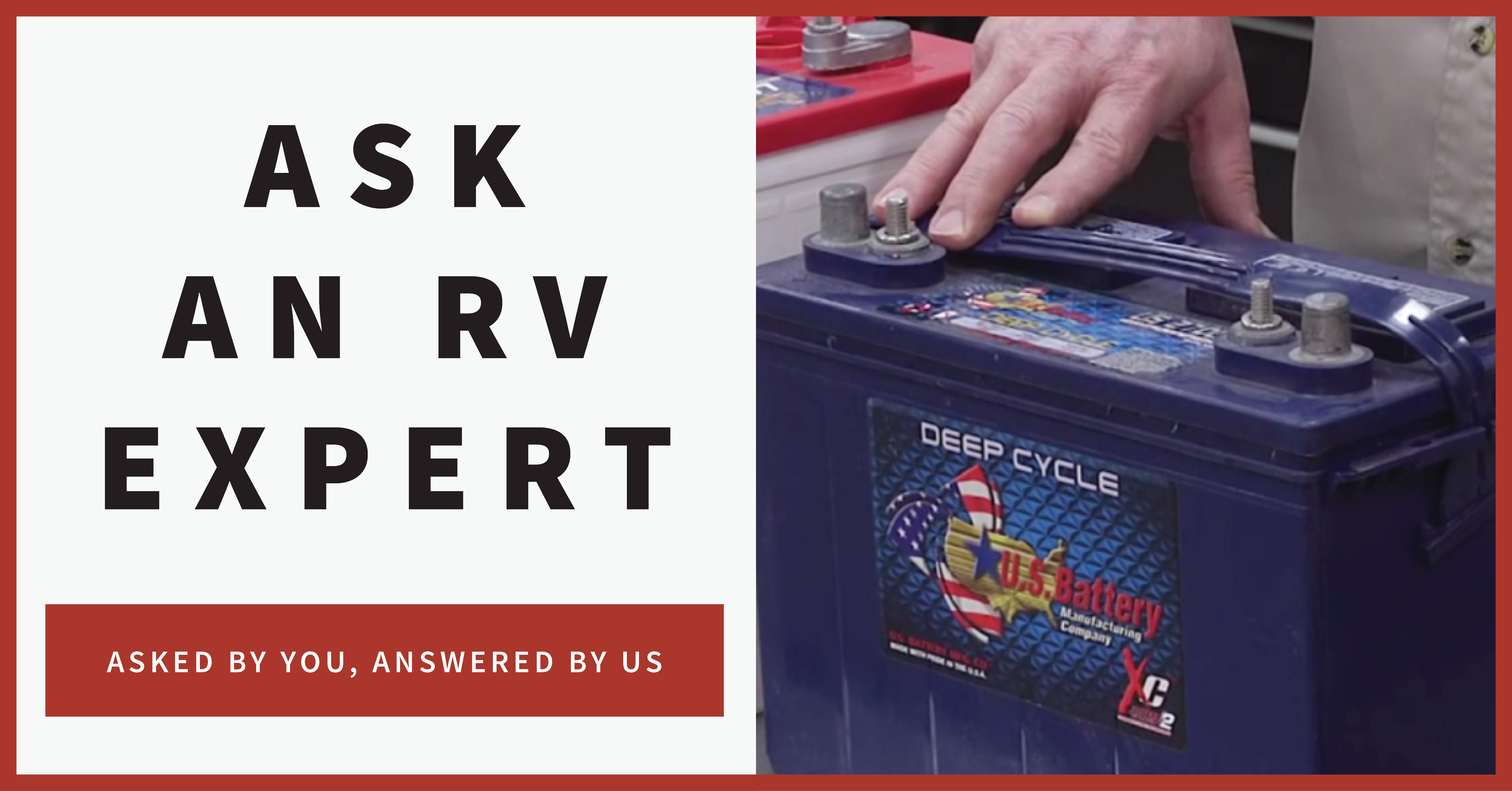 ask an rv expert banner
