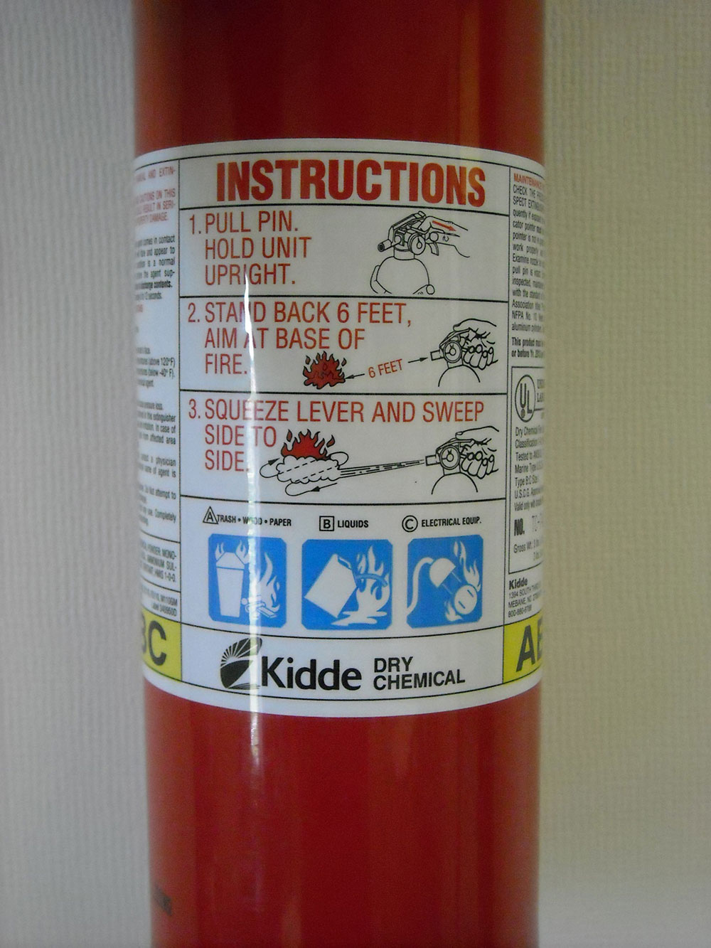 rv fire extinguisher use and maintenance rv repair club