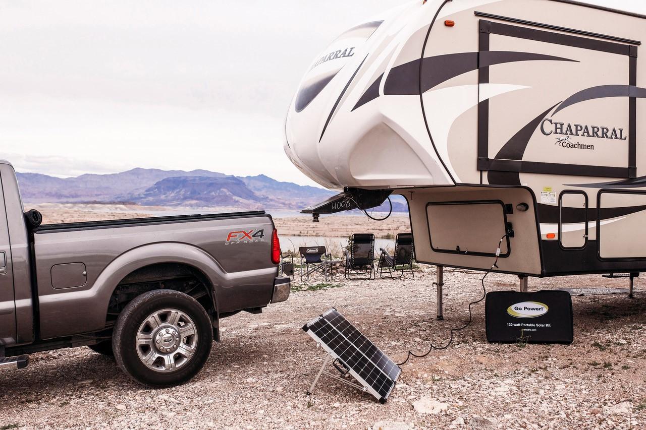 Portable RV Solar Panel