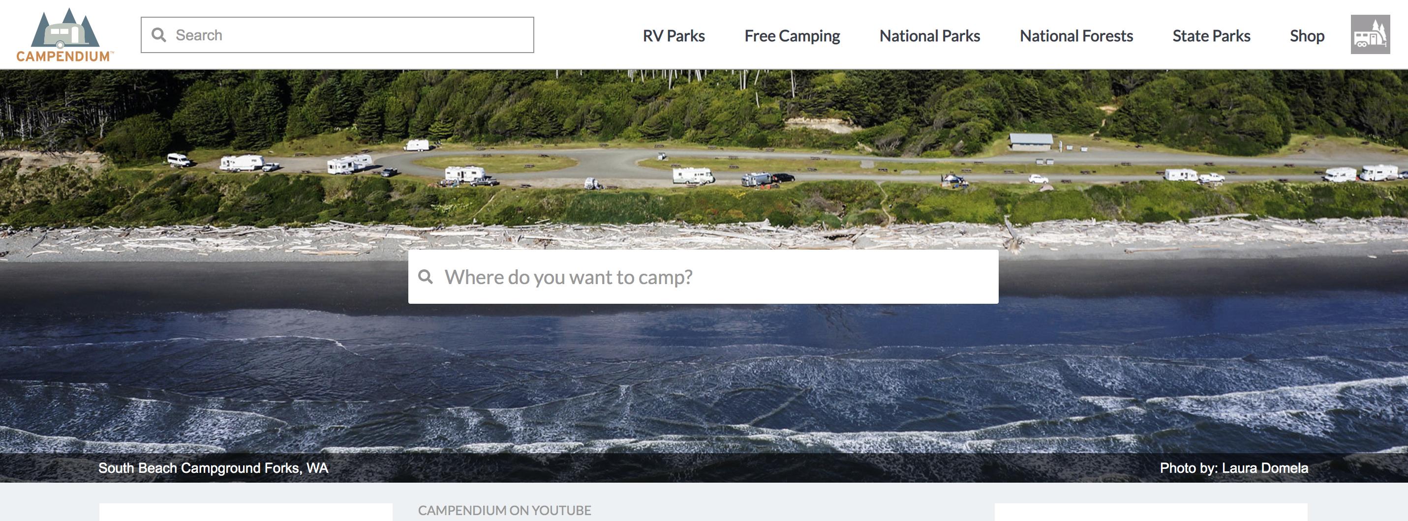 Campendium Website