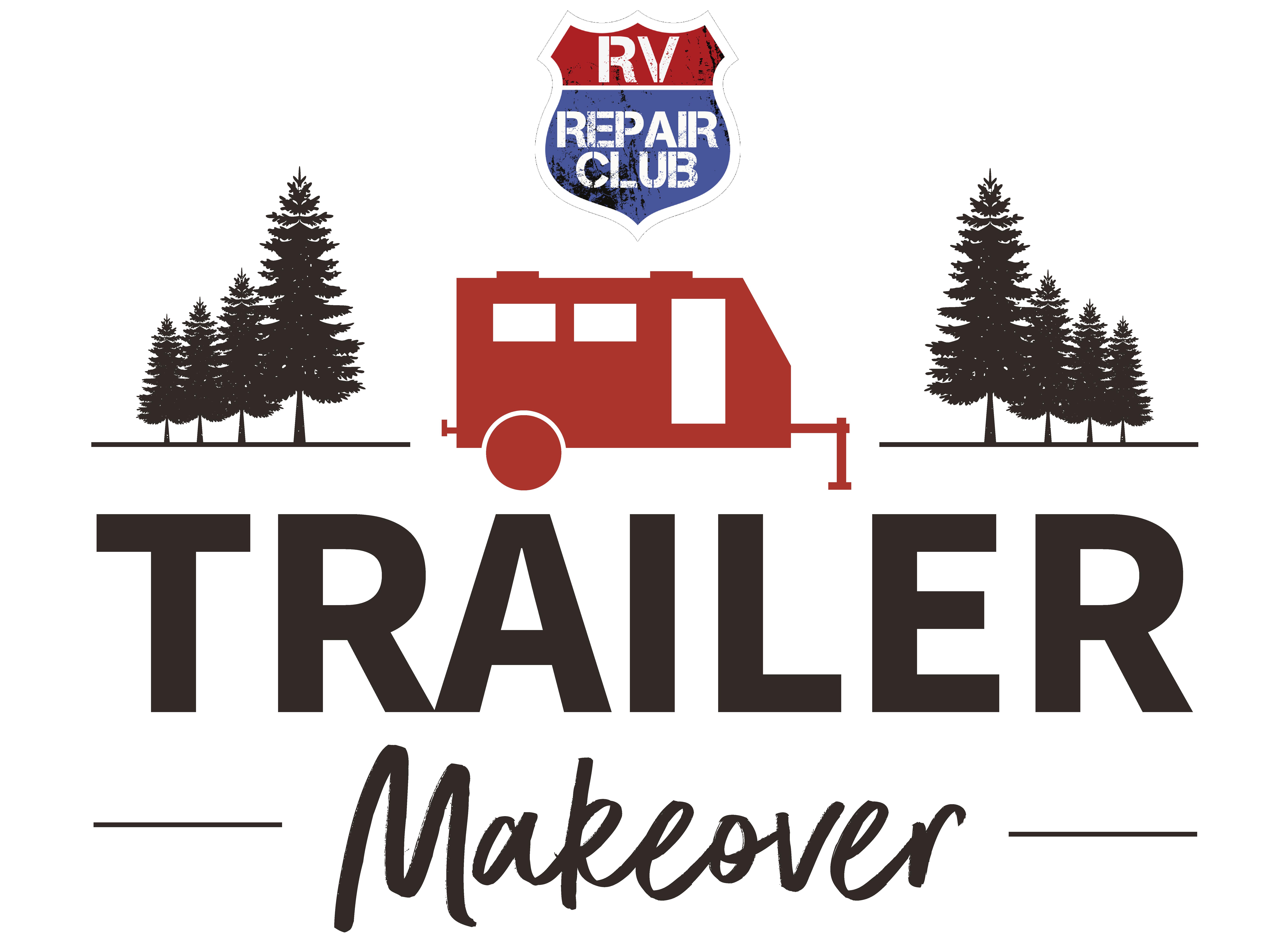 RV Repair Club Trailer Makeover Logo