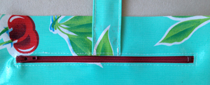 step 16 - oilcloth wallet pattern