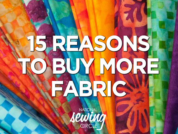 15 reasons - sew