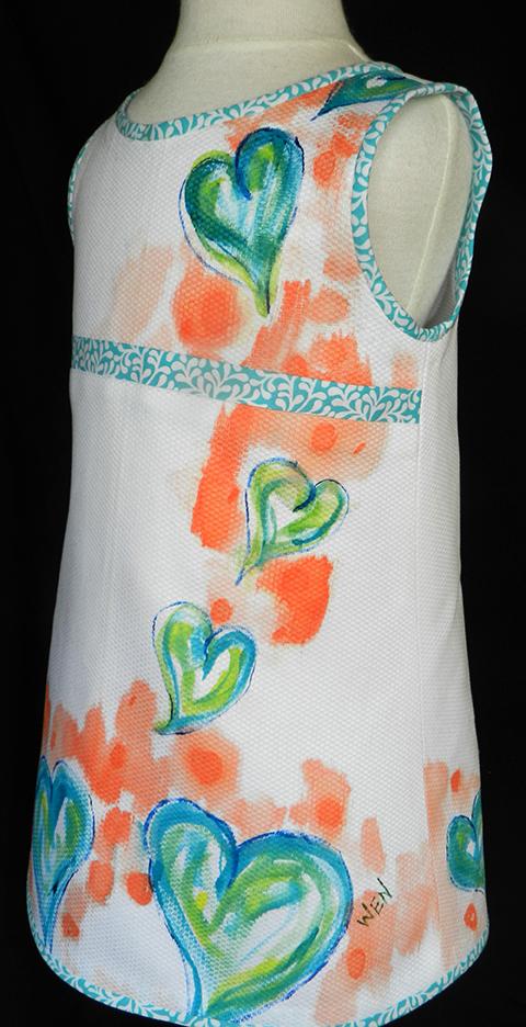 bias trim dress 2