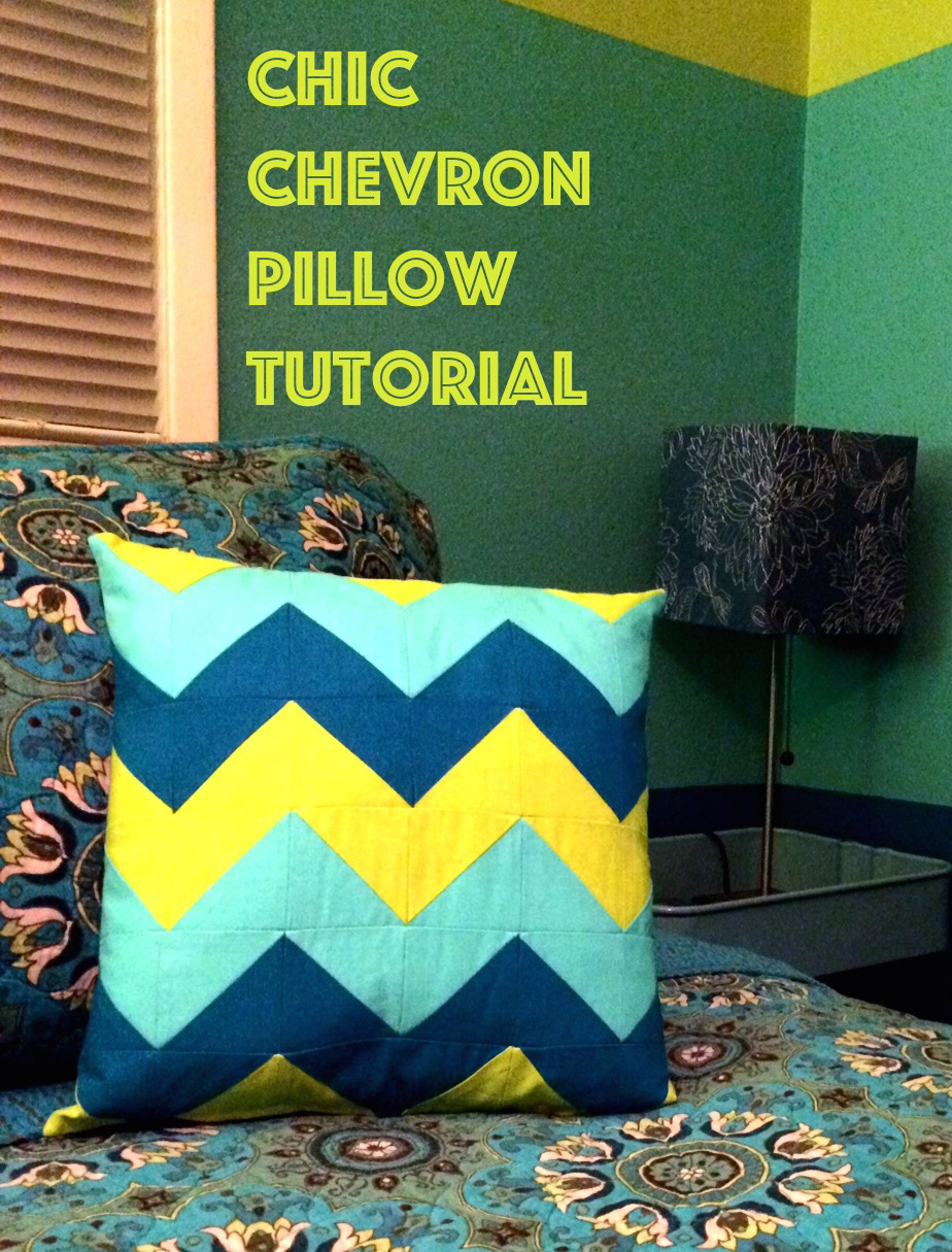 chevron pillow lead