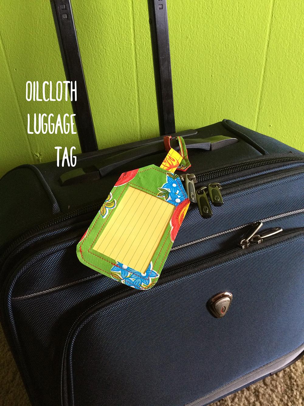 luggage tag lead