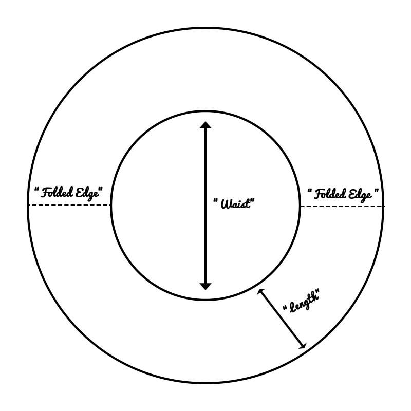 circle skirt pattern 3