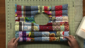 Easy Patchwork Sewing Project: Rice Pack