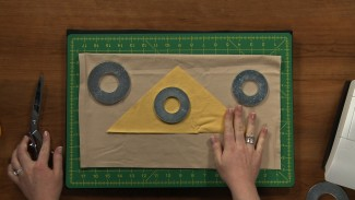 Cut Out Pattern Pieces Faster with Fabric Weights