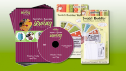 NSC R4011Q Creative Tricks & Tips 4-DVD Set + Swatch Buddies