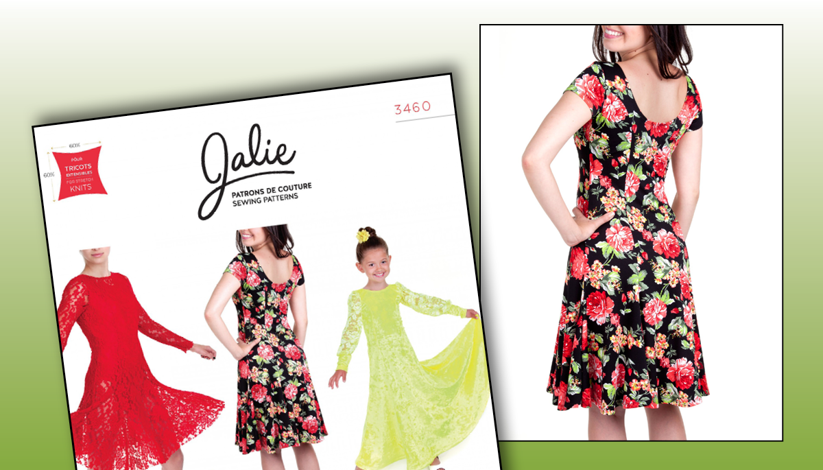Jalie Bella Fit and Flare Dress Pattern | National Sewing Circle