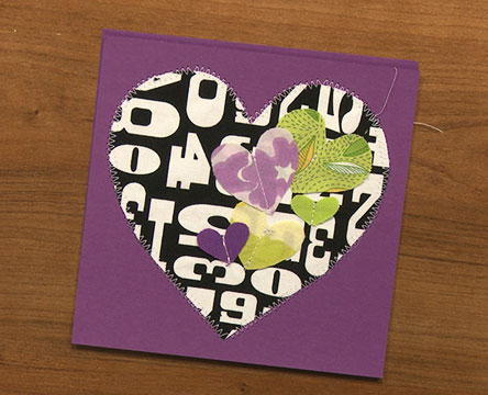 fabric-paper-cards