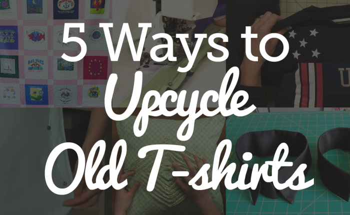 Upcycle T-Shirts
