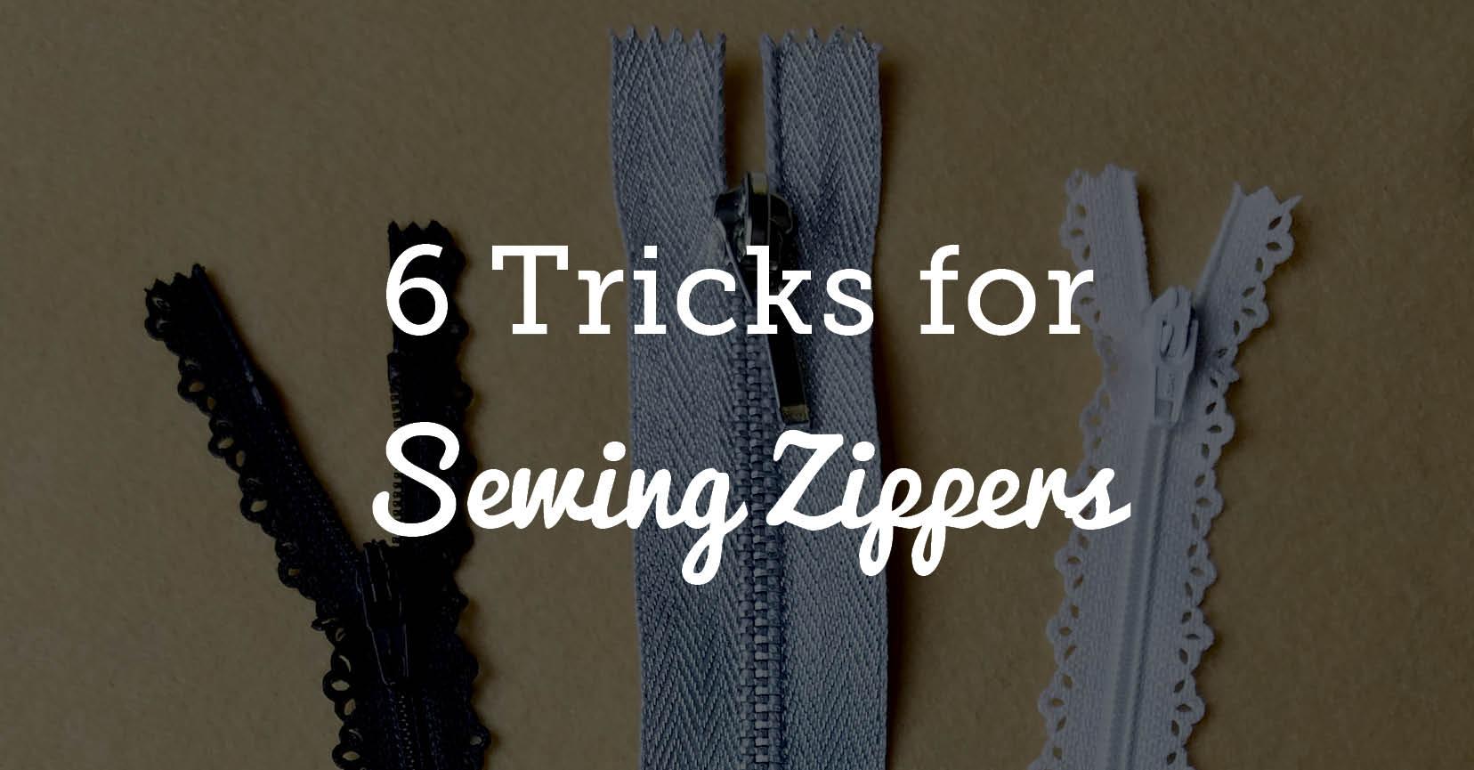 31c3d0f2c93a How to Sew a Zipper  6 Helpful Tips