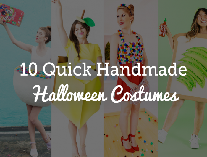 10 Quick DIY Halloween Costume Ideas