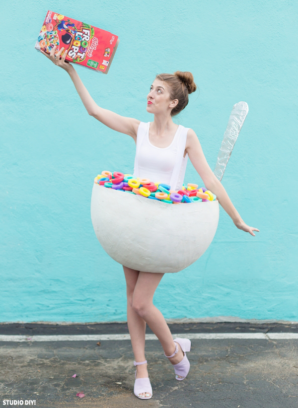 DIY Cereal Costume