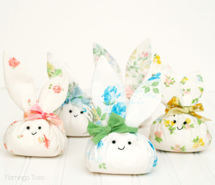 Spring Sewing Projects: Fabric Bunnies