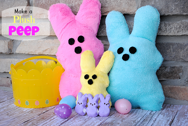 Spring Sewing Projects: Peep Plush