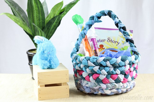 Spring Sewing Projects:: Scrap Basket