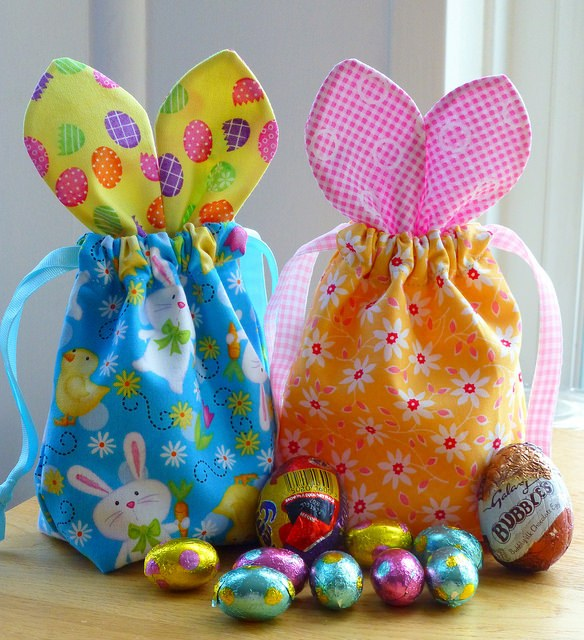 Spring Sewing Projects: Bunny Bags