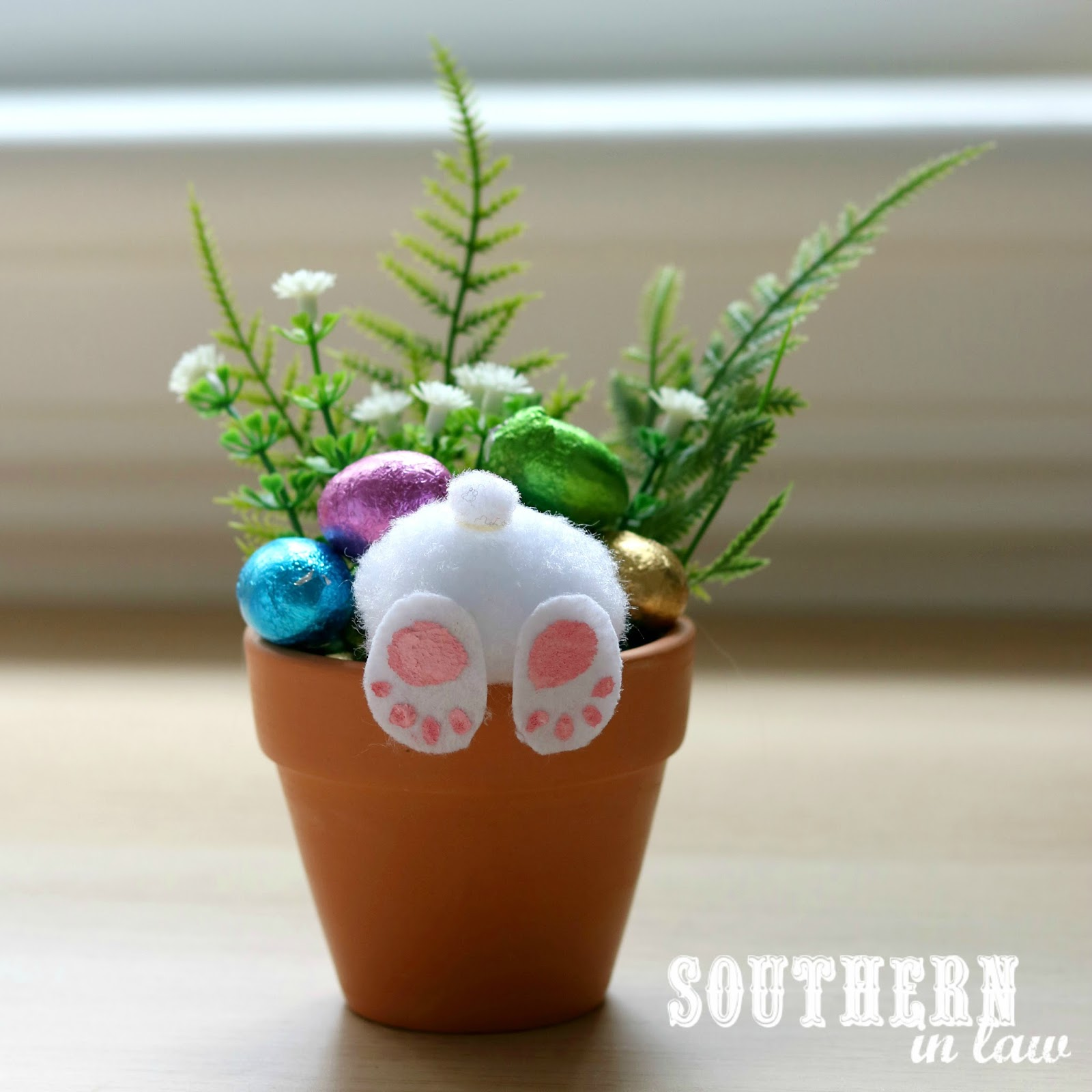 Spring Sewing Projects: Bunny Pots