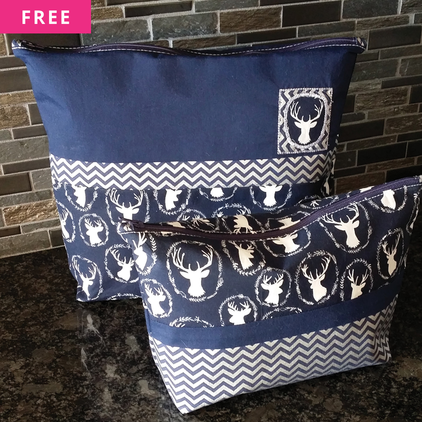 Free Sewing Pattern - Zippered Pouch