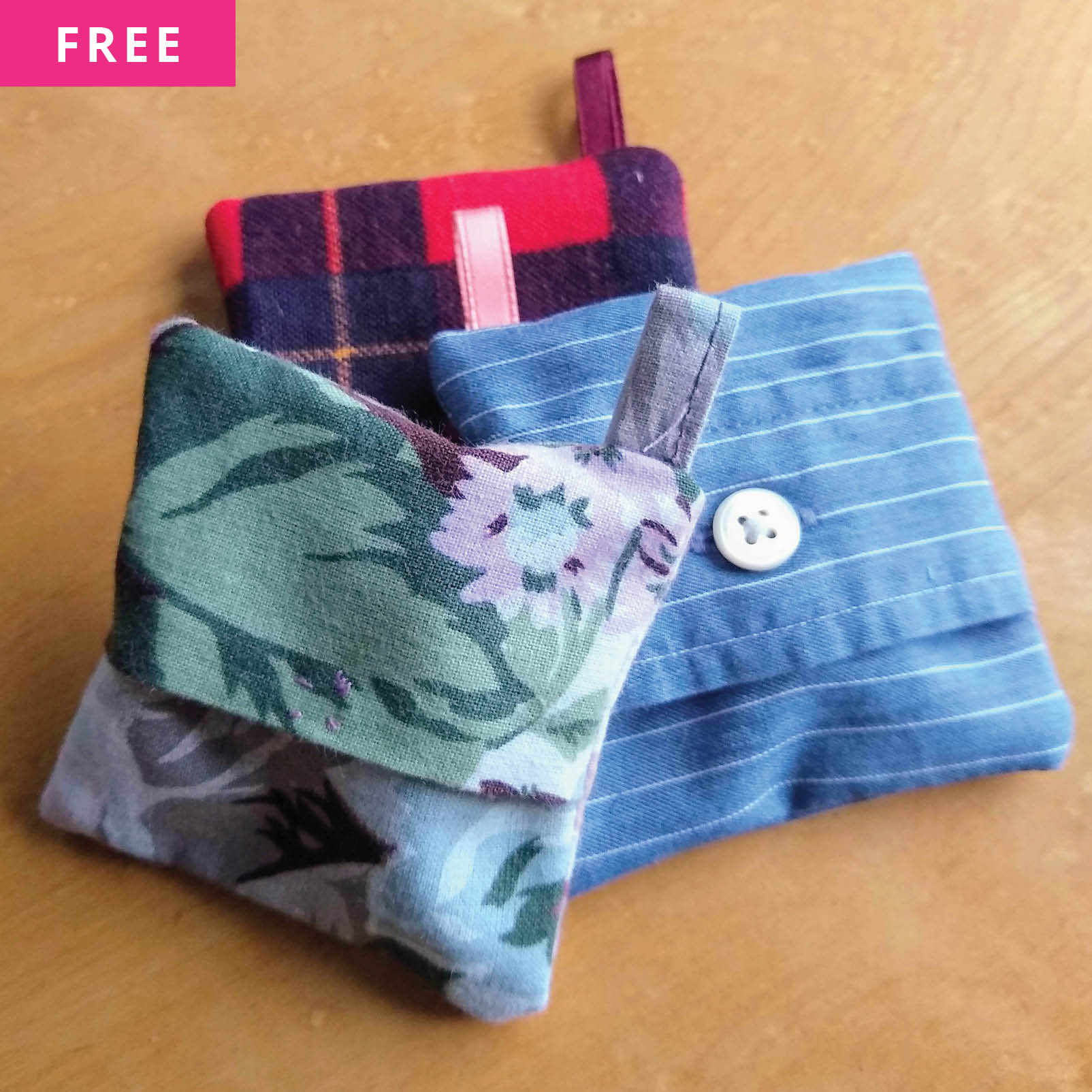 Free Sewing Pattern - Earbud Pouch Pattern