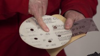 Guide to abrasives for paint preparation