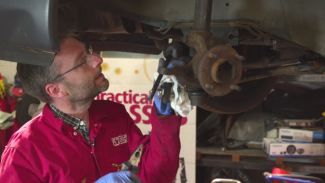 How to change a steering rack gaiter