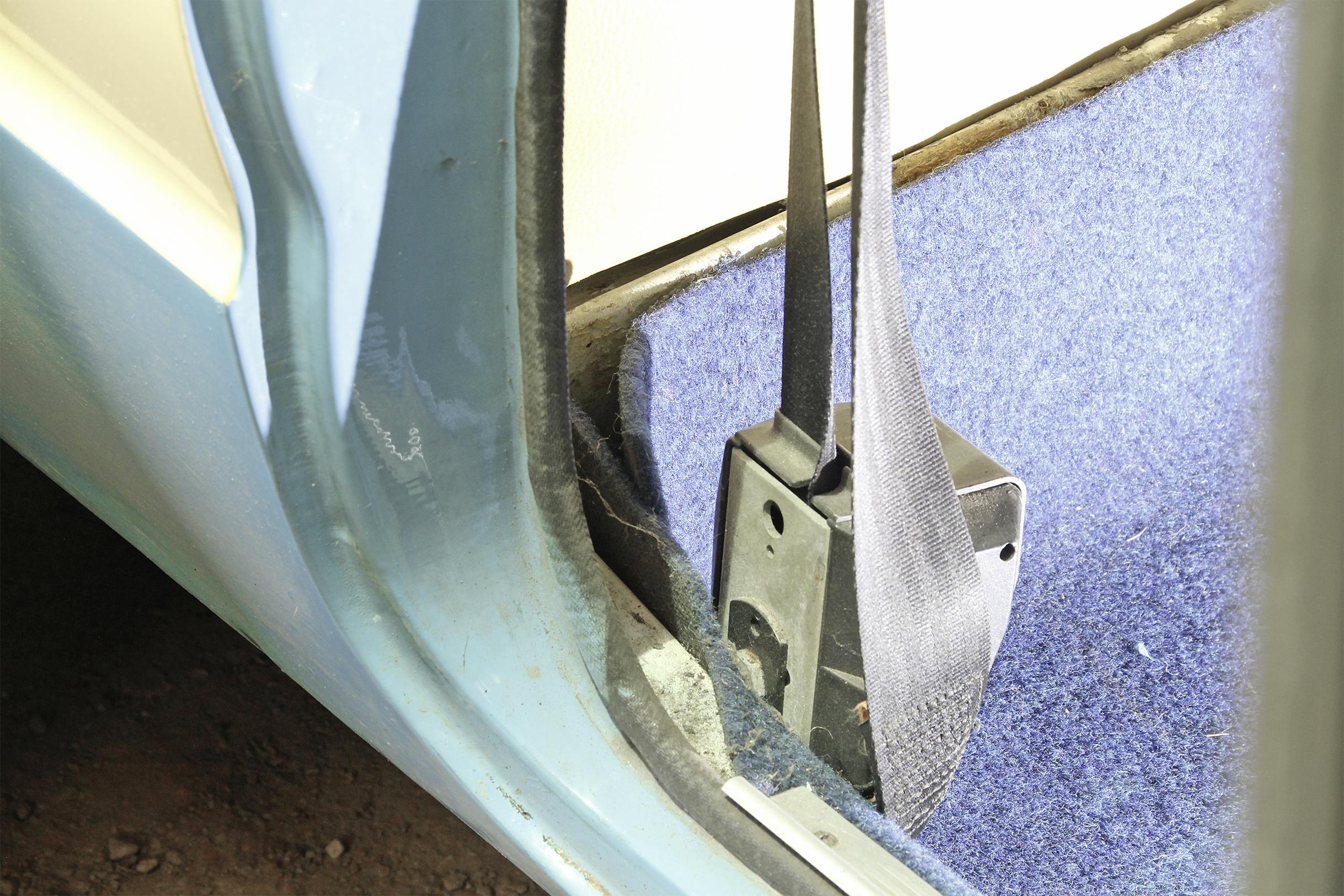 Inertia Seat Belt Problem