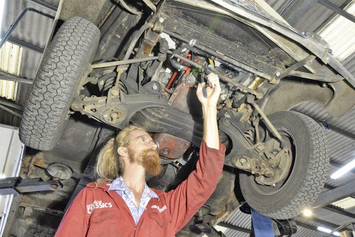 How to Correct Heavy Steering