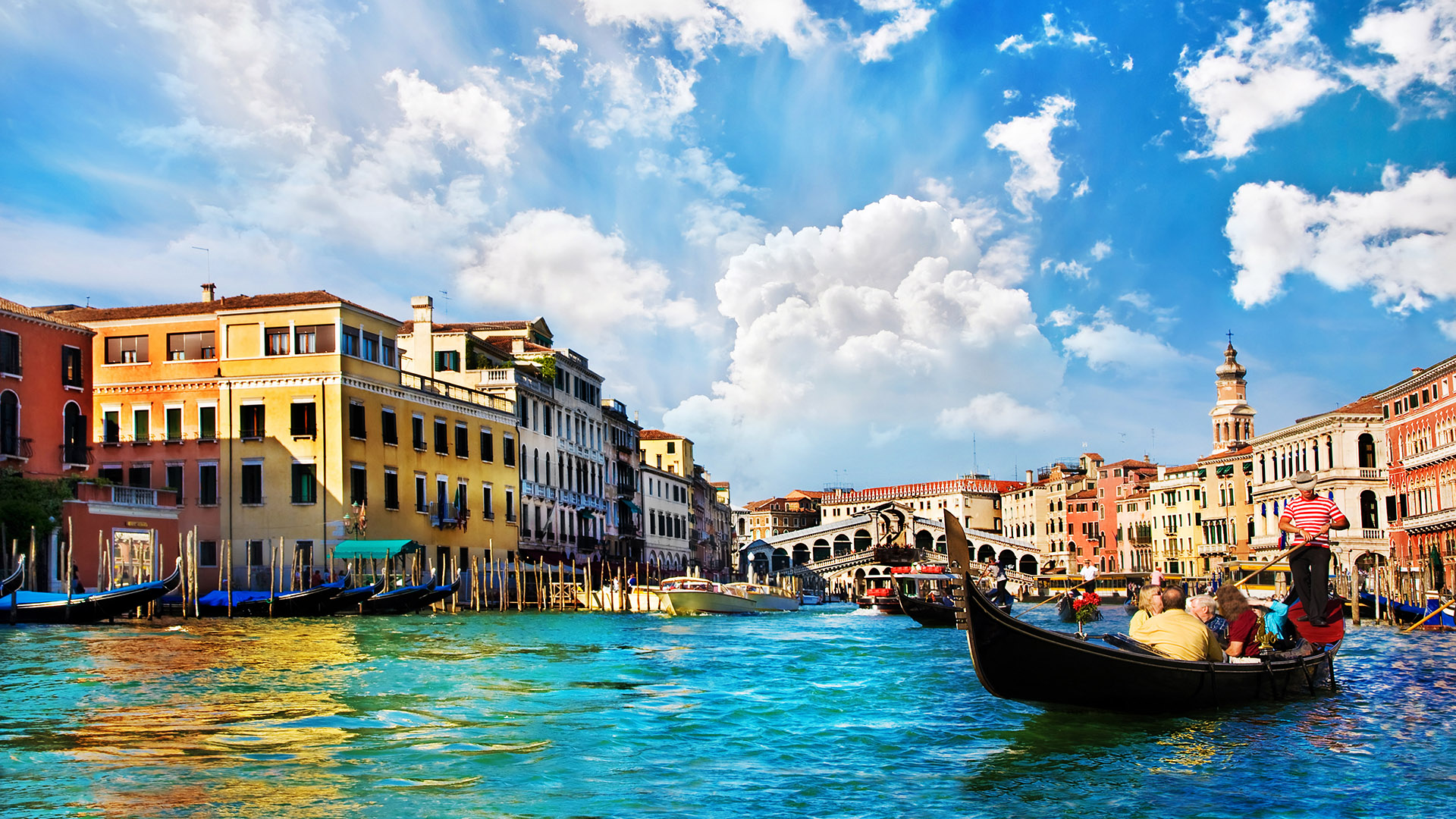 Around The World 52 Adventures Grand Canal Of Venice Italy