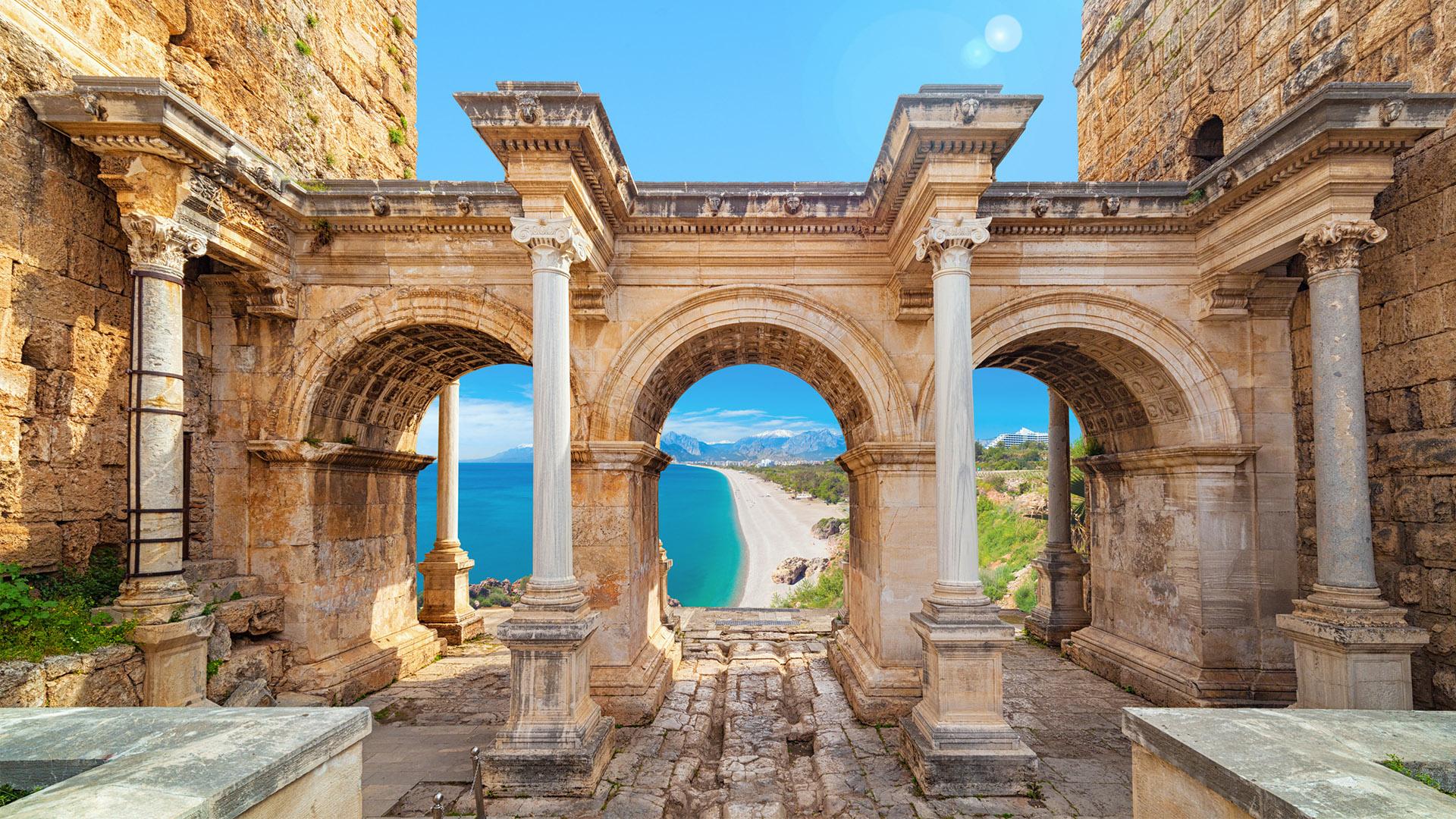 The Silk Road - Kanlidivane, Antalya, and Perge ... | 1920 x 1080 jpeg 817kB