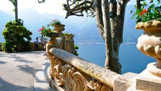 Villa del Balbianello, Villa Carlotta, and Bellagio on Lake Como, Italy